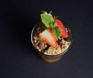 Coppa Golosa con Nutella e Fragole