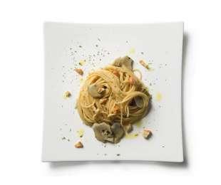 Spaghetti al profumo di acciughe